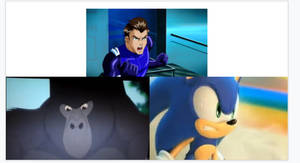 Sonic And Kerchak Challenges Tad