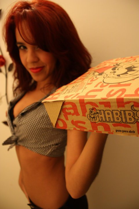Delivery Girl hahahahahaah by Jaay8D