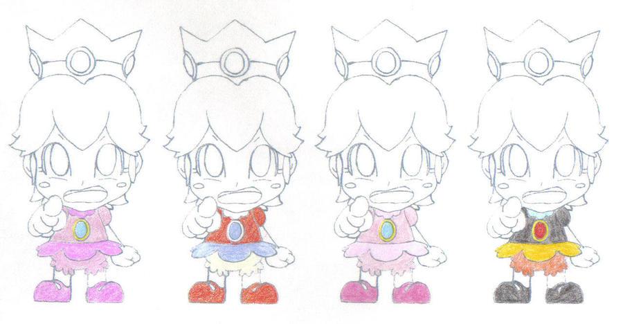 Baby Peach's Wardrobe 1