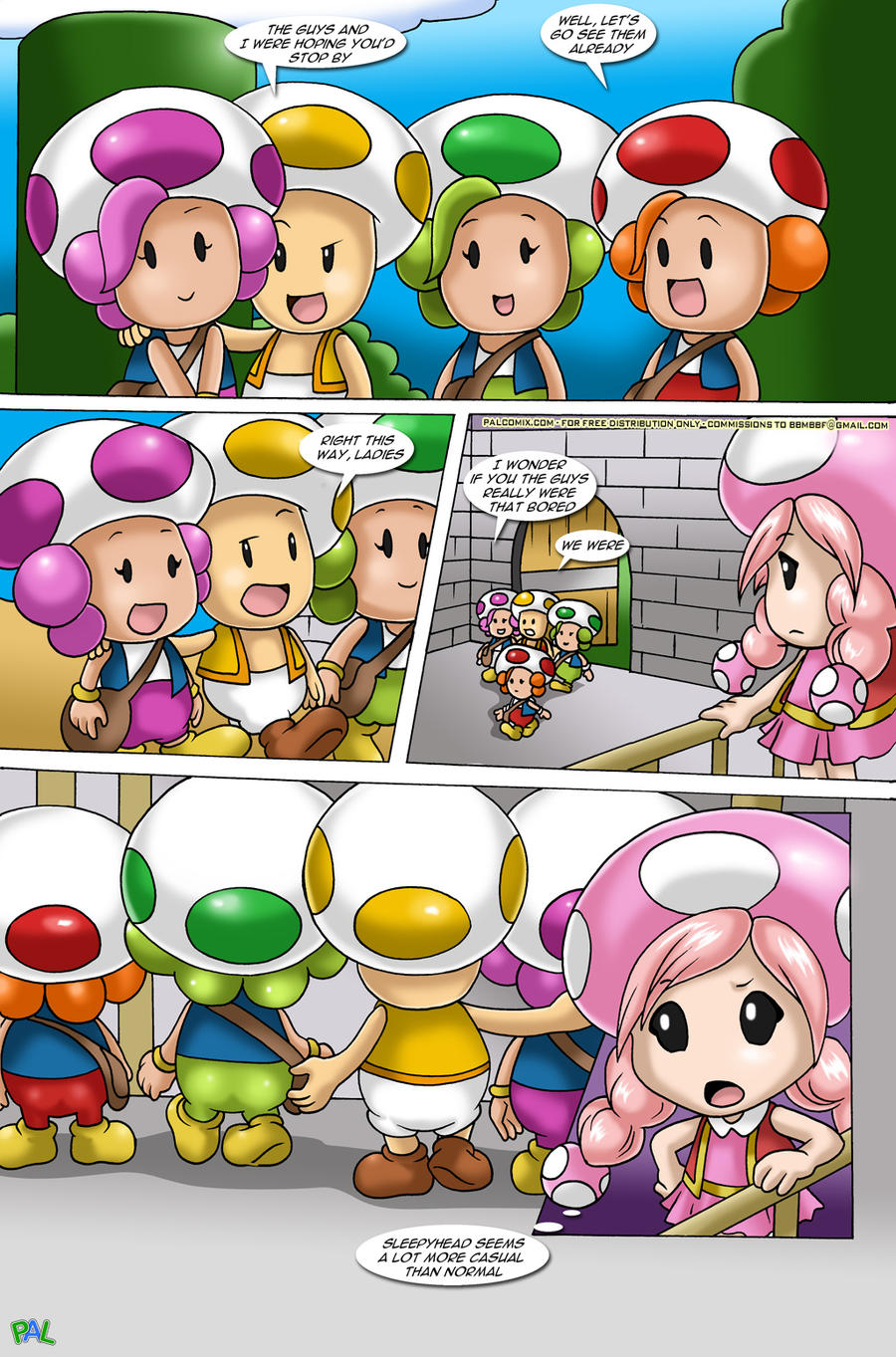 Mario Project 2 pg. 27 by RUinc on DeviantArt