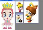 Marioverse Baby Princesses