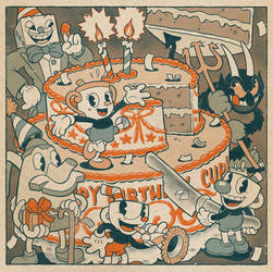 Cuphead's Second Birthday