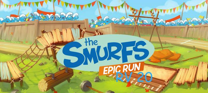 Smurfs Epic Run RV episode 20 is up