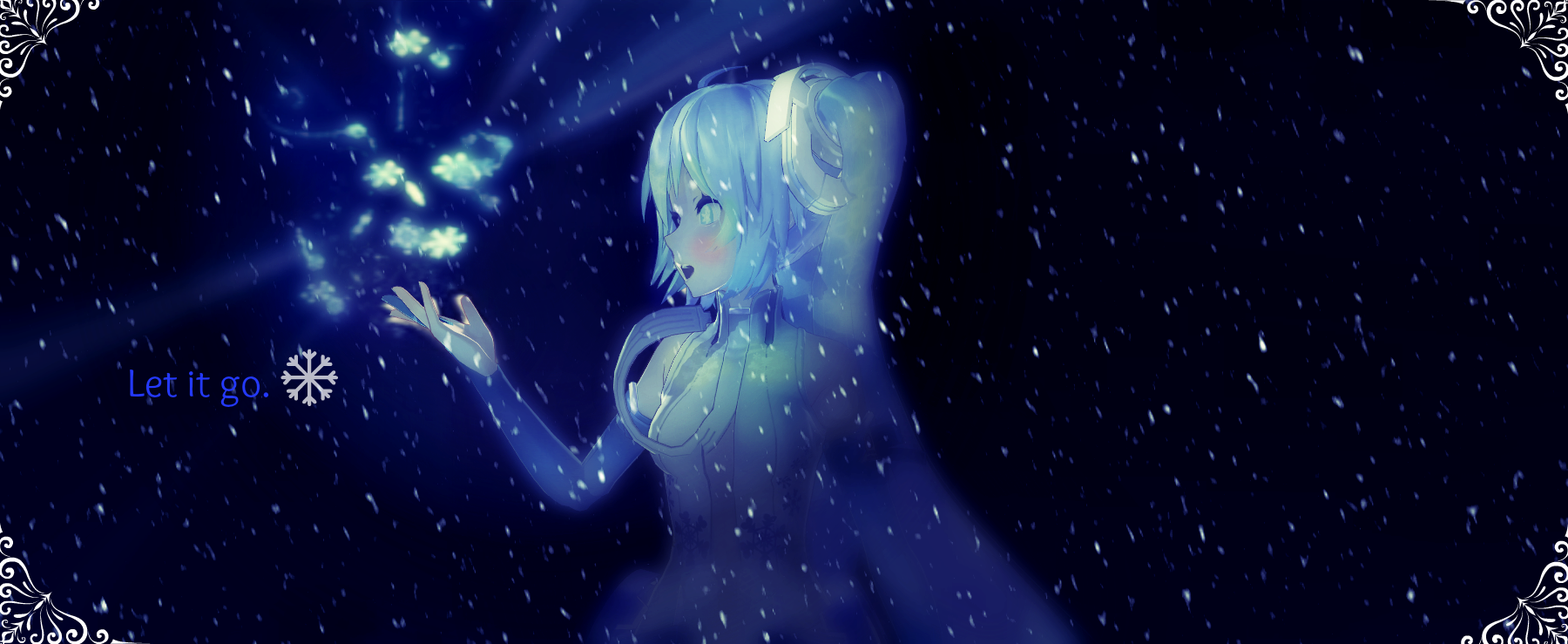 let it go.- frozen disney mmdruinana-chan on deviantart
