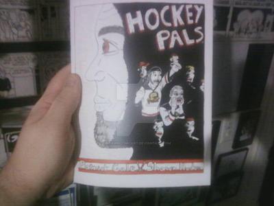 HOCKEY PALS by shawncomicart