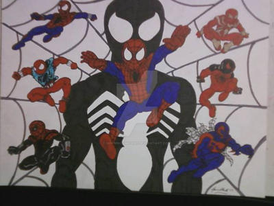 A HISTORY OF SPIDER-MAN by shawncomicart