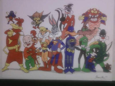 JUSTICE LOONS OF ACME by shawncomicart