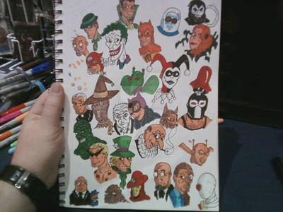 NC COMICON 2013 DOODLE 1 by shawncomicart