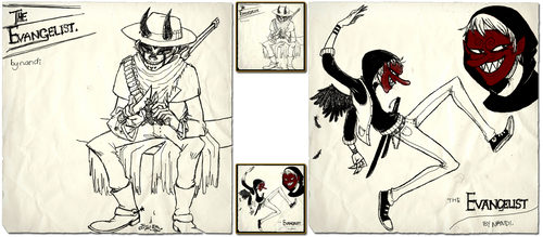 Gorillaz Character Design Comp