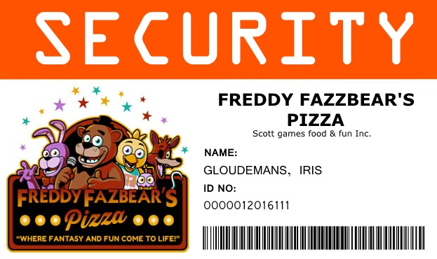 Fnaf security id by steampunkedfox on deviantart