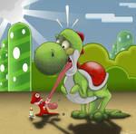 Play Nice Baby Mario