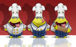 Food Mascot Design