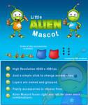 Little Alien Mascot