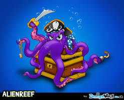 Alien Reef Villian by Npr1977