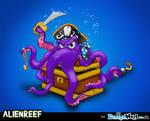Alien Reef Villian