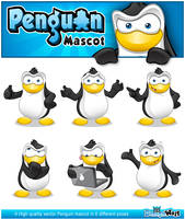 Penguin Mascot Series 1 by Npr1977