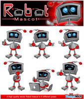 Robot Mascot Series 1 by Npr1977