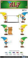 Elf Character - Set 2 by Npr1977