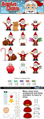 Santa Claus Mascot Creator by Npr1977