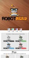 Robot Nerd - Logo Template