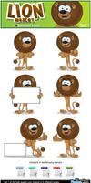 Lion Mascot - Set 1