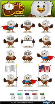 Baby Bald Eagle Mascot