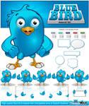 Blue Bird Mascot Kit