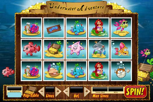 Underwater Adventure Game