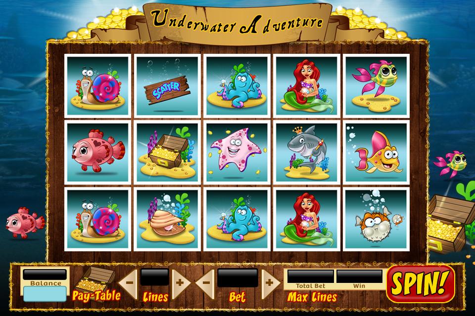 Underwater Adventure Game by Npr1977