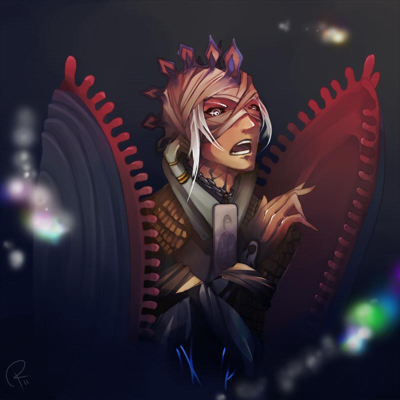 Skinned Anima by Iuvenis-Machina