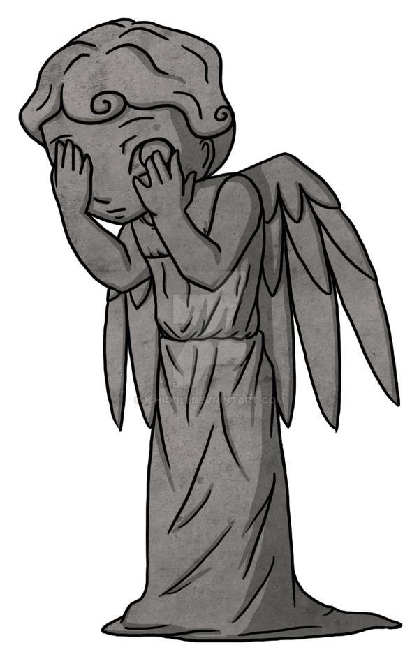 Chibi Weeping Angel by Ichigoli on DeviantArt