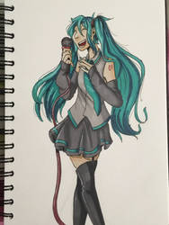 Miku by BattingButter