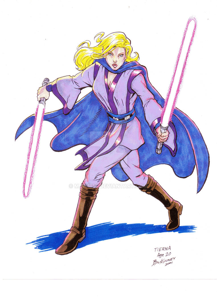 Jedi Knight, Tierna by mjwm54