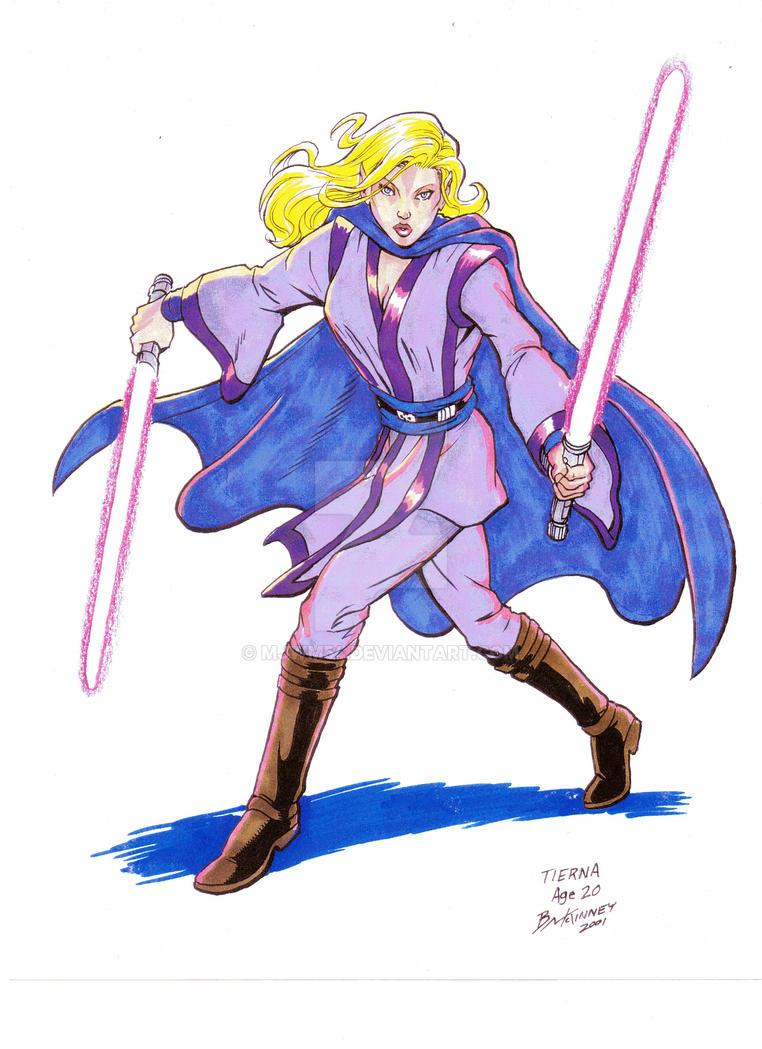 Jedi Knight, Tierna by mjwm54