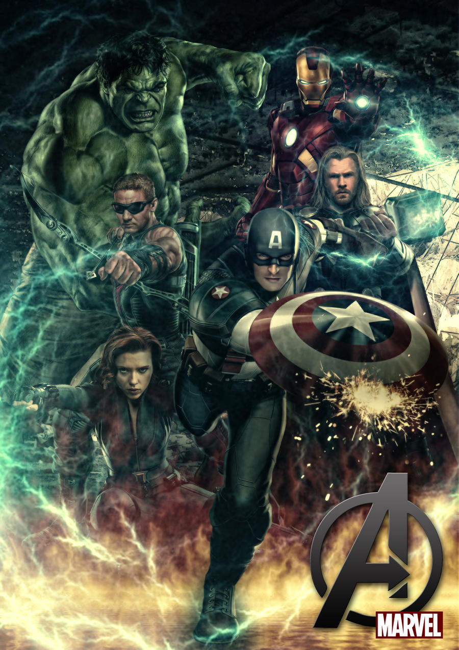 the avengers by materialboyz - The Avengers