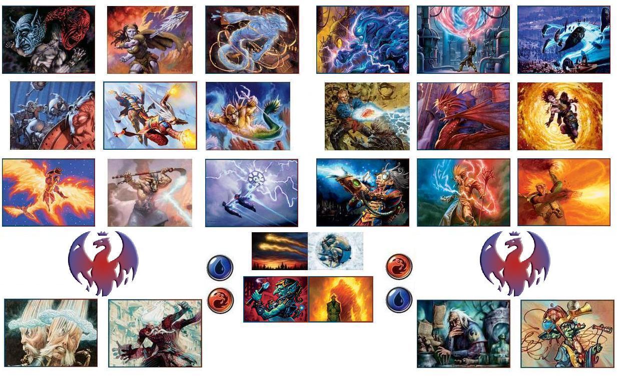 Izzet League Magic the gathering - izzet byIzzet League Symbol