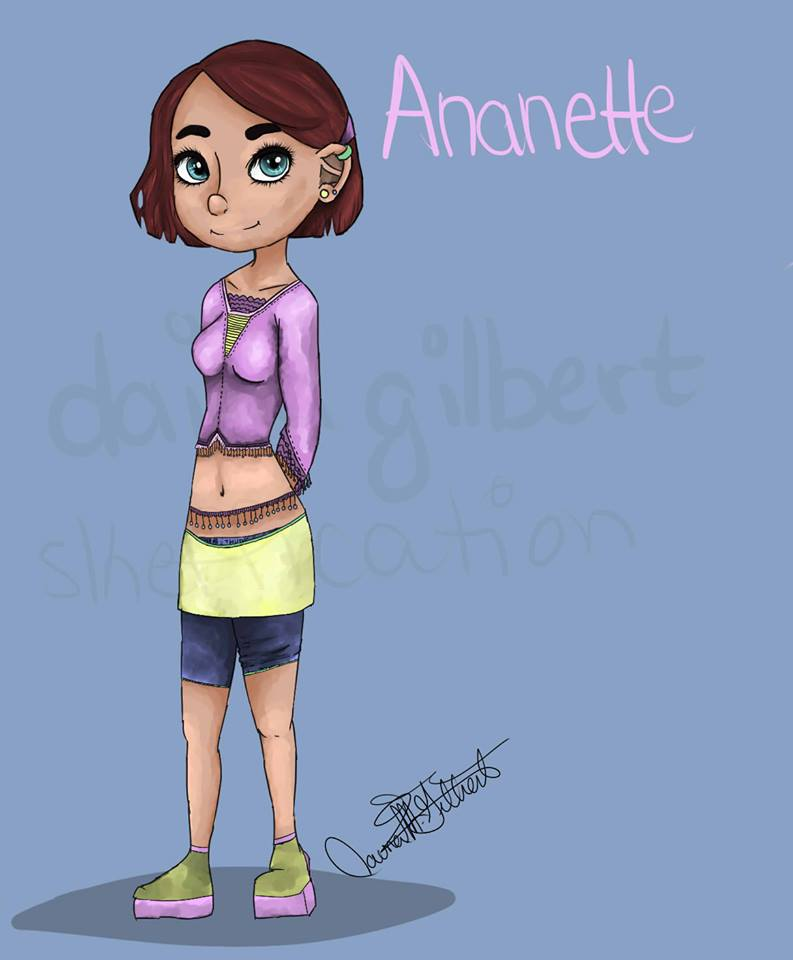 Ananette by Skeffication