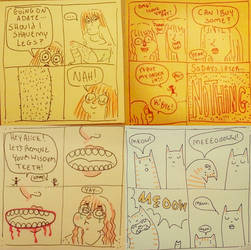 Some comics PT 1 by PickledAlice