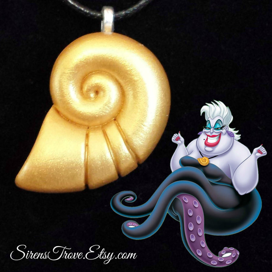 ursula s shell necklace ariel s voice by