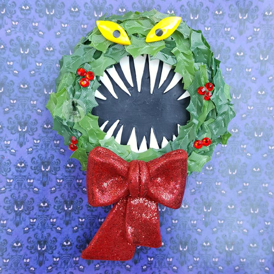 Man Eating Wreath - Nightmare Before Christmas by CreationsByMelissa ...
