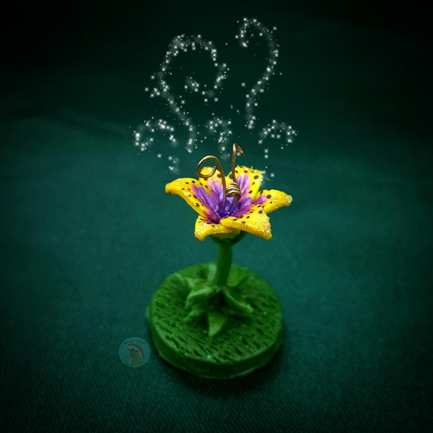 Magical Golden Flower by CreationsByMelissa