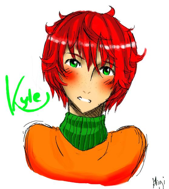 Kyle by HigitsuneTenshi