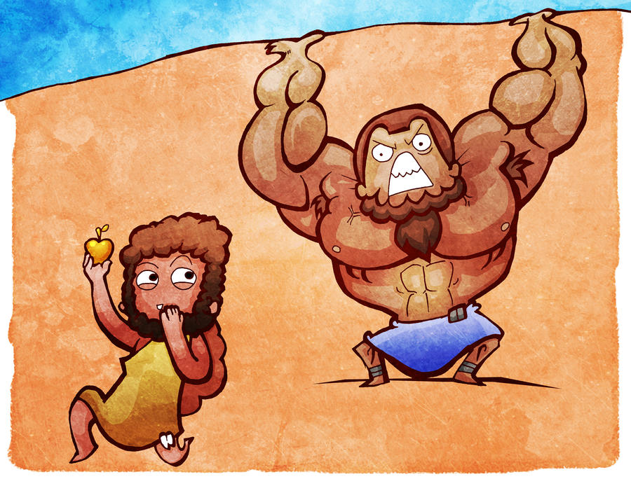 Hercules' Eleventh Labor by Hanogan on DeviantArt