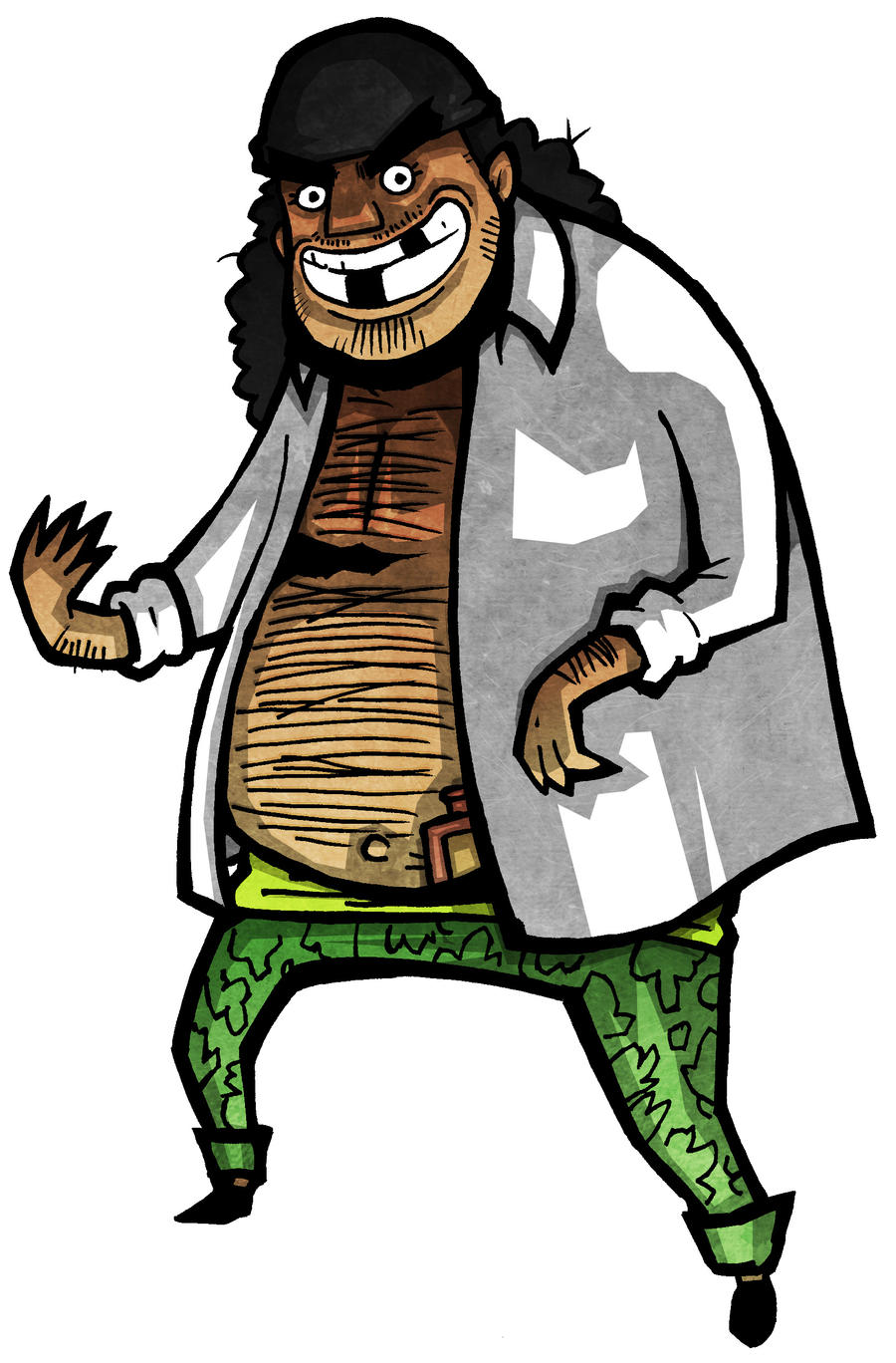 One Piece - Blackbeard by Hanogan on DeviantArt