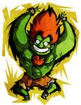 Street Fighter - Blanka