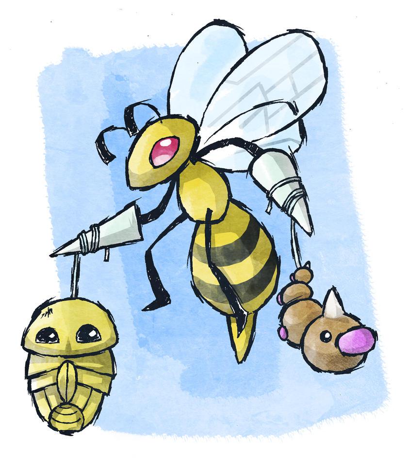 Pokemon 13,14,15 by Hanogan