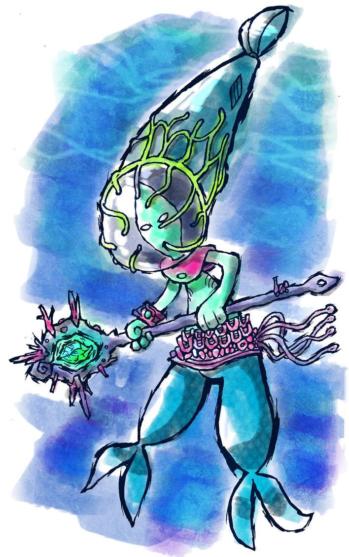Mermaid/Merman - Contest Entry by Hanogan