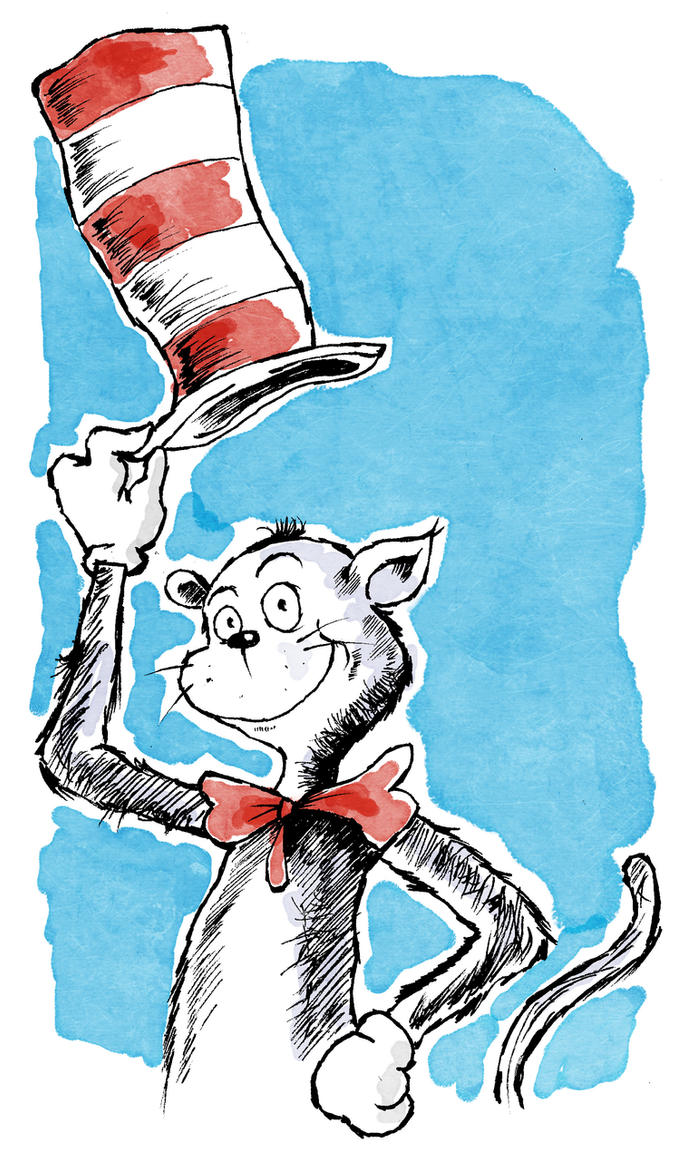 The Cat In The Hat by Hanogan