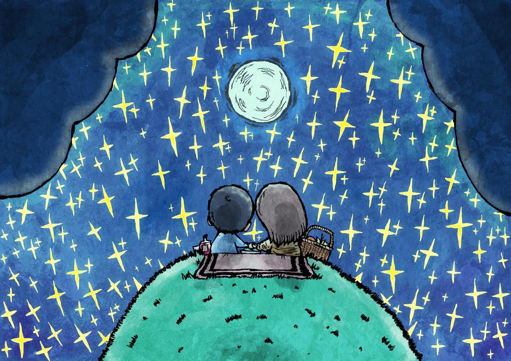 Starry Night by Hanogan