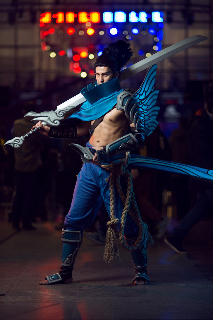 Yasuo Cosplay (original skin) by Ragnaradi